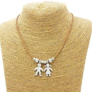 👫Cute boy/girl fashion necklace NWT
